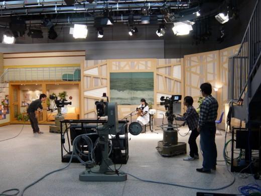 NHK福島「ふくみみ」出演(2009年4月)