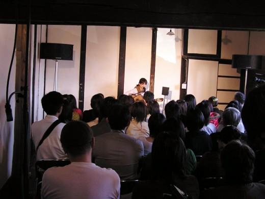 樹ノ音工房オープン記念ライブ(2008年4月)